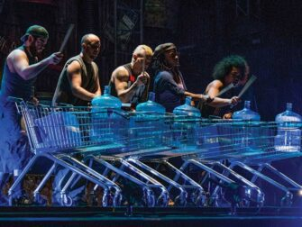 STOMP in New York Tickets Trolley